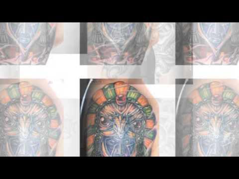 Татуировки на плече мужские фото