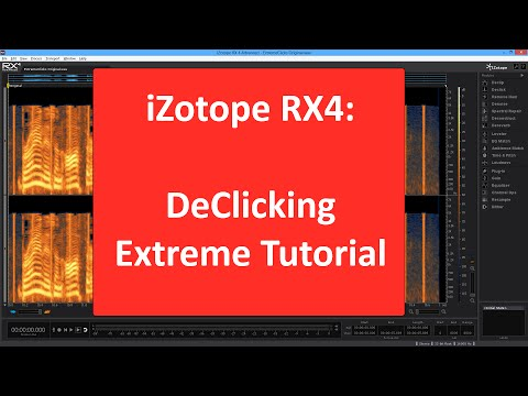 iZotope RX4 Interface Secrets: Scrolling, Zooming, Scaling and More