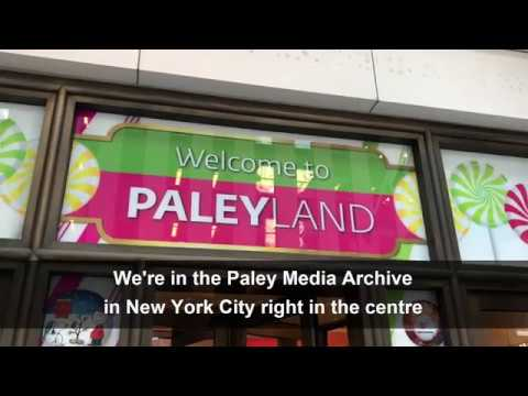 Media and Communications students at the Paley Center for Media