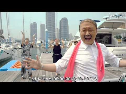 PSY - DADDY(feat. CL of 2NE1) M/V  [English subs + Romanization + Hangul] HD