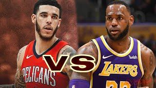 New Orleans Pelicans vs Los Angeles Lakers - Regular Season - Jan, 3 - NBA 2K20