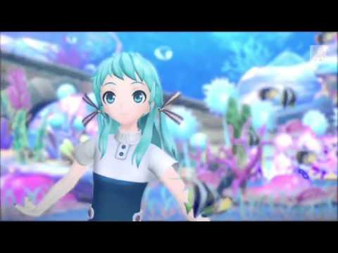 Project DIVA X - Sea Lily Deep Sea Tale (English-Romaji subs)