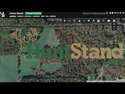 How To Use HuntStand Or Bing Bird's Eye View For Hunting