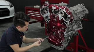 Download Nissan GT-R R35 Engine Restoration by Hanz autoworks Mp3 and Videos