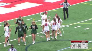 Highlights Cornell Wlax Vs Dartmouth