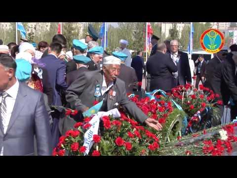 видео: К монументу «Отан