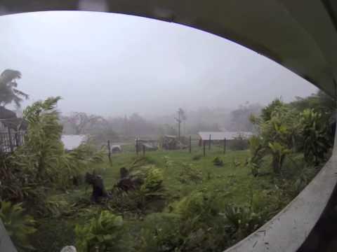 Cyclone Pam Tanna Island Vanuatu 14.03.2015