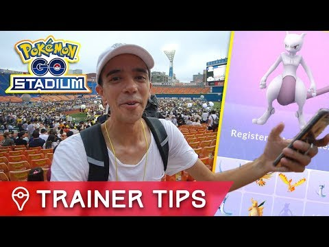FIRST EVER MEWTWO IN POKÉMON GO! NEW LEGENDARY RAID BOSS CAUGHT ✦ POKÉMON GO STADIUM JAPAN