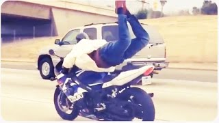 Motorcycle Yoga | Insane Motorcycle Tricks