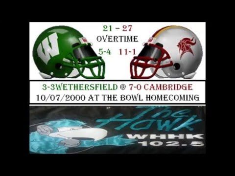 Wethersfield at Cambridge Homecoming 10/7/2000