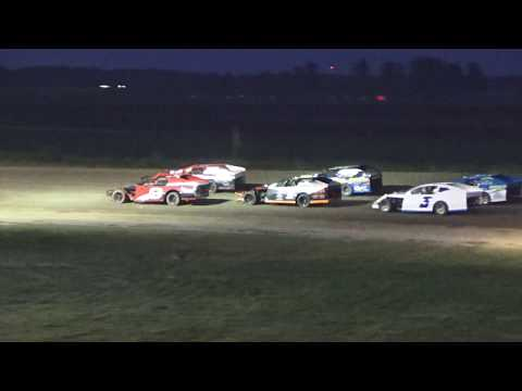 12. I.M.C.A. Feature Race at I-96 Speedway on 06-02-17, Michigan.