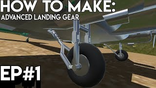 Simpleplanes | HOW TO MAKE ADVANCED LANDING GEAR Mp3