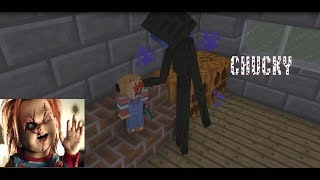 Monster School: CHUCKY HORROR GAME CHALLENGE - Minecraft Animation