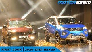 2020 Tata Nexon Facelift - First Look   MotorBeam हिंदी thumbnail