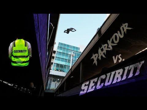 PARKOUR VS SECURITY - Situación REAL