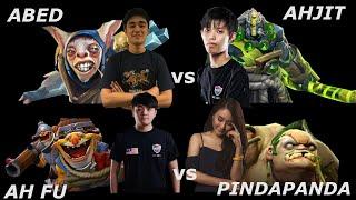 1V1 ABED VS AHJIT & AHFU VS PINDAPANDA