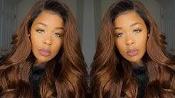 Step by Step  NO BLEACH Box Dye Ombre Method ft. Ali Pearl Hair Aliexpress