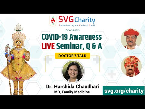 Corona Seminar : Family Care in COVID-19 pandemic by Dr. Harshida Chaudhry (USA)