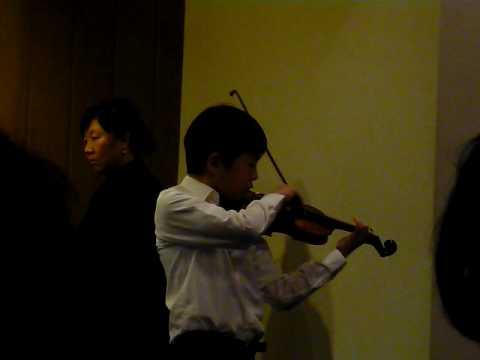 Joseph Choe's Baclanova Concertino Violin Recital