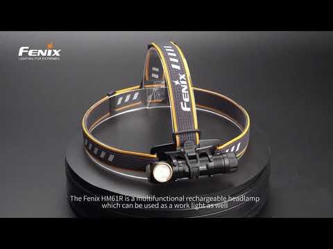 Senter Kepala Fenix HM61R Headlamp Rechargeable