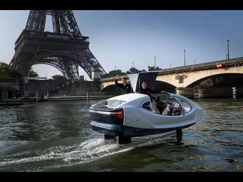WEB EXTRA: Flying Taxi in Paris