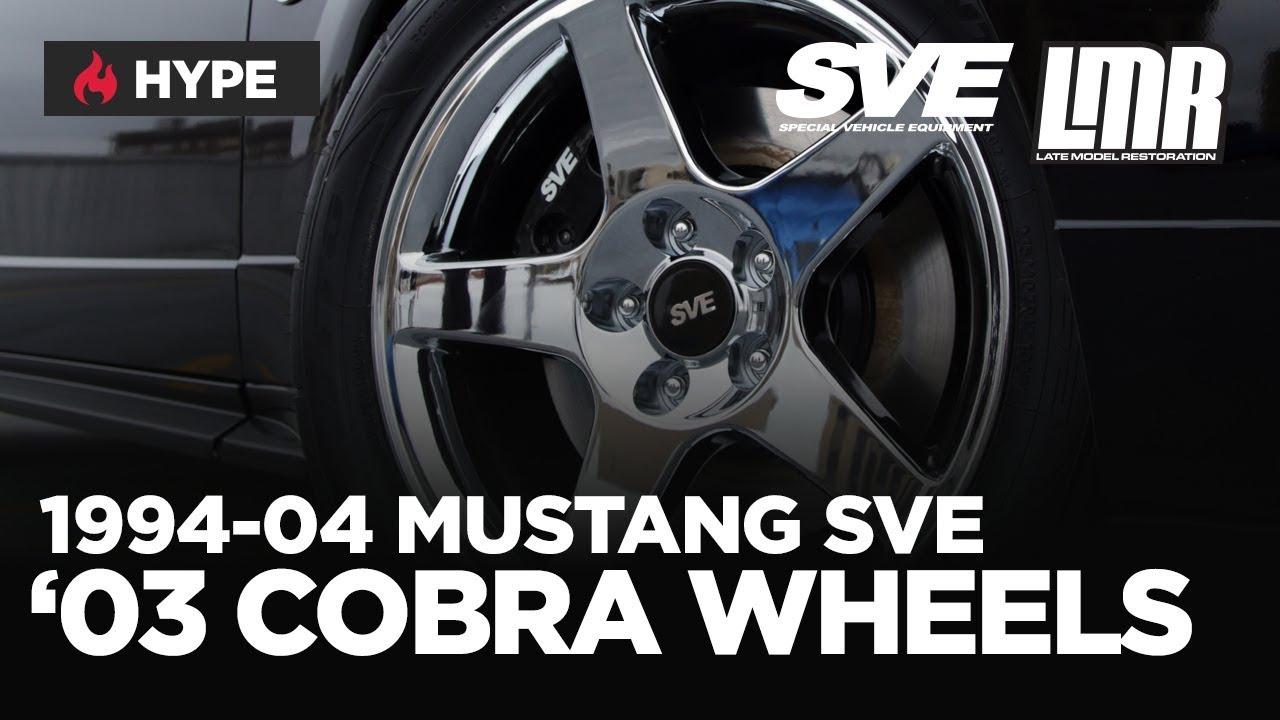 1994-2004 Mustang SVE 2003 Cobra Style Wheels