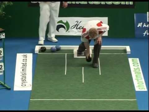 Greengauge Shortmat Bowls Challenge - Alex Marshall M.B.E. V's Ceri Jones