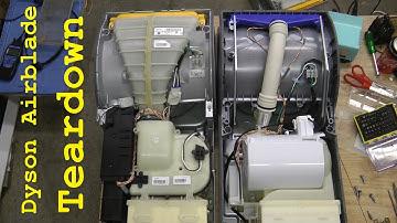 Разборка и ремонт Dyson Airblade - AB-14 и AB-02