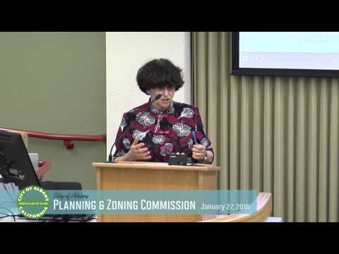 Planning & Zoning Commission - Jan 27, 2016