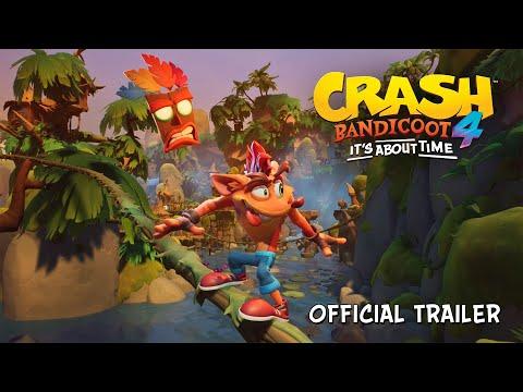 Trailer de anúncio do Crash Bandicoot™ 4: It's About Time [BR-PT]