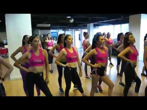 Bb. Pilipinas 2018 Candidates Visit Gold's Gym Part 3
