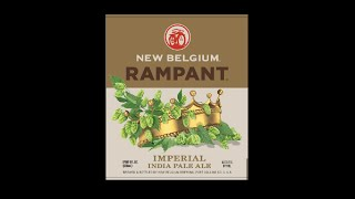 Beer Review #95 - New Belgium Rampant Imperial IPA