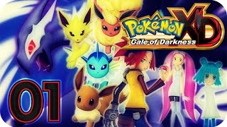 Pokemon XD: Gale of Darkness Walkthrough Part 1 No Commentary (Gamecube)