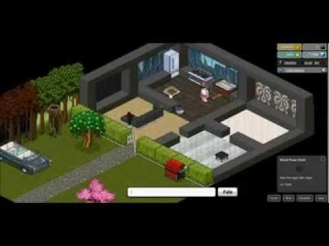 Construccion de palacio moderno en habbo youtube for Casas en habbo
