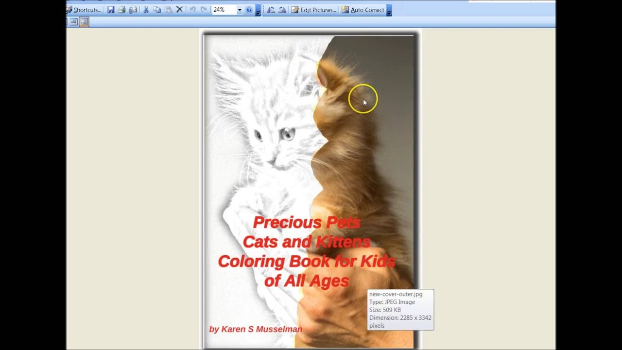 How to Make Coloring Books - YouTube