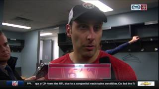 Roberto Luongo -- Florida Panthers vs. Vancouver Cancuks postgame 1/20/17