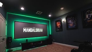 Full INSTALL: SVS Ultra 5.1.4 Atmos Home Theater JVC rs2000 & Paladin DCR ANAMORPHIC Lens