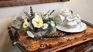 Wedding Floral Table Centerpiece   Elegant Floral Ideas   Anniversary Centerpiece