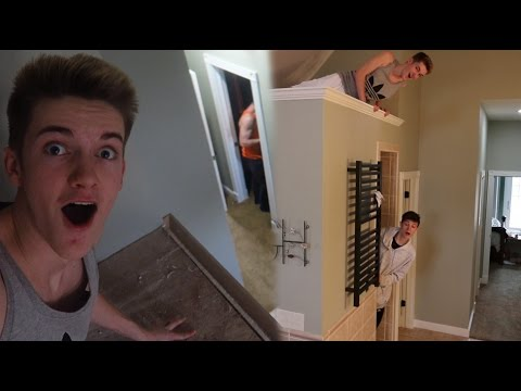 CRAZY HIDE AND SEEK IN THE NEW HOUSE!