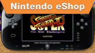 Nintendo eShop - Super Street Fighter II: The New Challengers Trailer