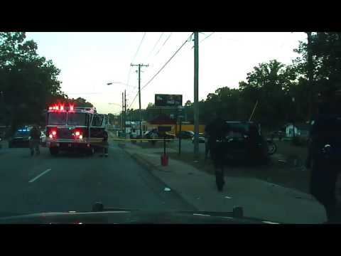 Raw dash cam of fatal police pursuit