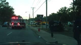 Raw dash cam of fatal police pursuit