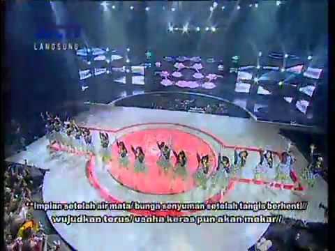 JKT48 - Shonichi + Hissatsu Teleport @Mega Konser JKT48 - RCTI