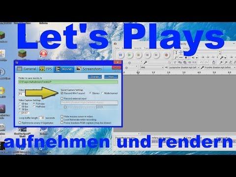 lets plays aufnehmen pc kostenlos