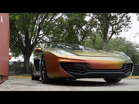MetroWrapz - McLaren MP4 - Avery ColorFlow™ Rolling