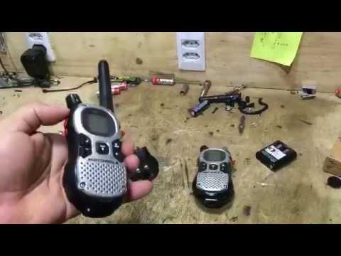 Radio Talkabout MJ270 desliga ao apertar o PTT / Radio Talkabout MJ270 turns off when you press PTT.