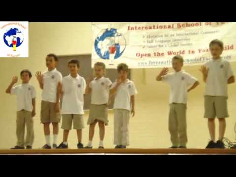 French Junior School End of Year Ceremony - International School of Tucson