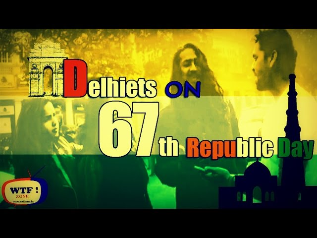 Guys & Girls ON Republic Day - 26th January || Shocking IQ Level || Street Interview ||WTF!ZONE||