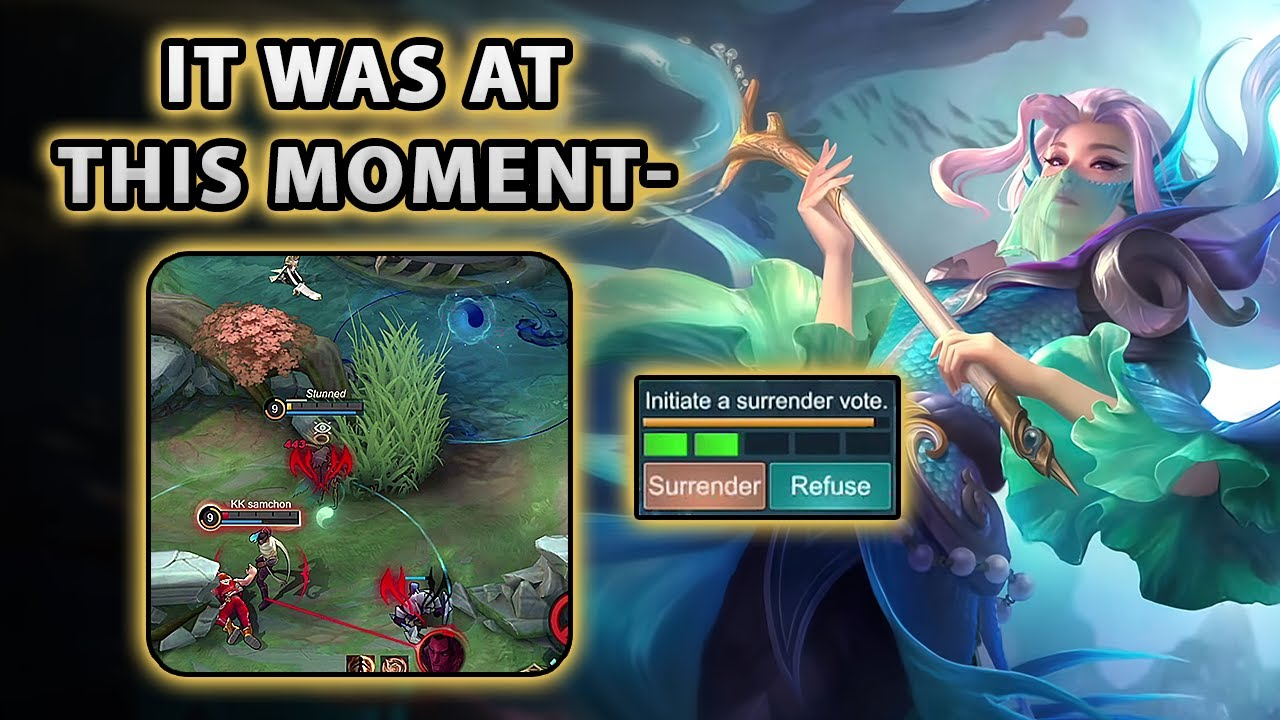 I Thought We Were Going To lose, Until This Happened...   Mobile Legends