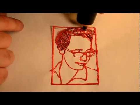 3Doodle of Chris Davies (SlashGear)